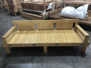 Ghế gấp thành giường gỗ Sồi Nga