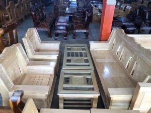 Salon gỗ Sồi Nga tay 14