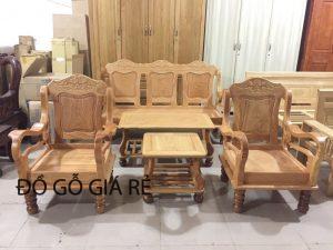Salon Mã Lai lớn gỗ Gõ Đỏ